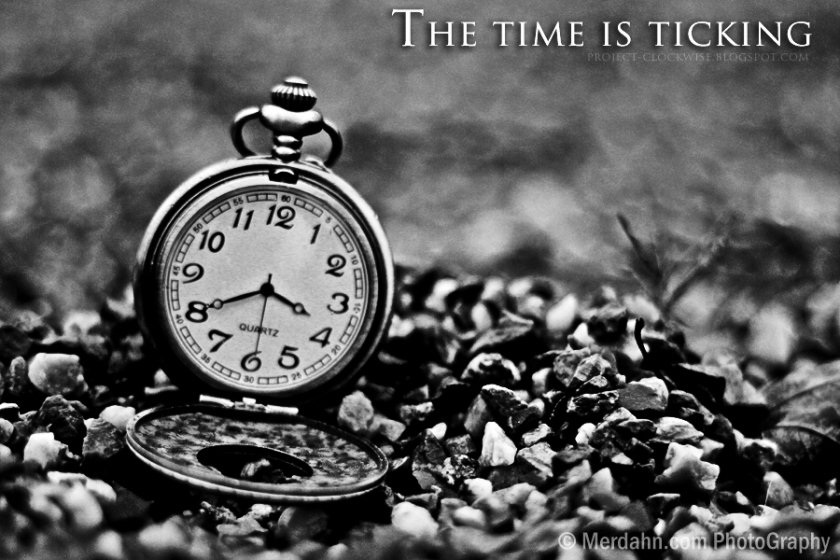 Time is ticking